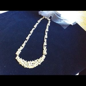 Crystal Bridal or evening necklace